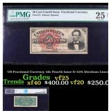 US Fractional Currency 50c Fourth Issue fr-1374 Ab