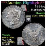***Auction Highlight*** 1884-p Morgan Dollar $1 Gr