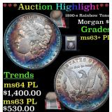 ***Auction Highlight*** 1890-s Rainbow Toned Morga