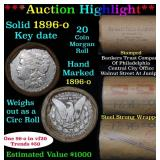 ***Auction Highlight*** Full solid date 1896-o Key