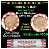 ***Auction Highlight*** Indian 1c Shotgun Roll, 19