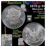 ***Auction Highlight*** 1878-p 8tf Morgan Dollar $