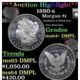 ***Auction Highlight*** 1880-s Morgan Dollar $1 Gr