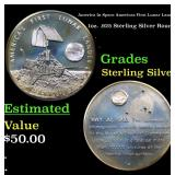 America In Space Americas First Lunar Lander 1oz.
