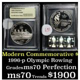 1996-P Olympics Rowing . . Modern Commem Silver Do