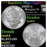 ***Auction Highlight*** 1880-o Morgan Dollar $1 Gr