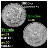 1900-o Morgan Dollar $1 Grades Choice AU