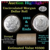 ***Auction Highlight*** 1889 & CC Uncirculated Mor