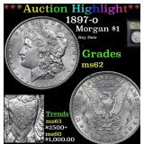 ***Auction Highlight*** 1897-o Morgan Dollar $1 Gr