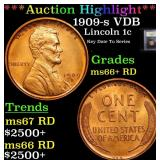 ***Auction Highlight*** 1909-s VDB Lincoln Cent 1c
