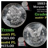 1882-s Morgan Dollar $1 Grades Choice Unc+ PL