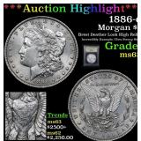 ***Auction Highlight*** 1886-o Morgan Dollar $1 Gr