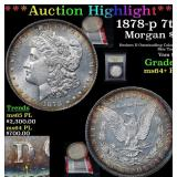 ***Auction Highlight*** 1878-p 7tf Morgan Dollar $