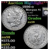 ***Auction Highlight*** 1896-o Morgan Dollar $1 Gr