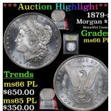 ***Auction Highlight*** 1879-s Morgan Dollar $1 Gr