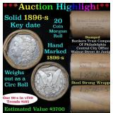 ***Auction Highlight*** Full solid date 1896-s Mor