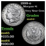 1899-o Morgan Dollar $1 Grades Choice+ Unc