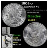 1904-o Morgan Dollar $1 Grades Choice+ Unc