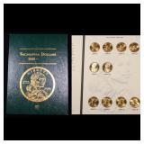 Complete Sacagawea Dollar Book 2000-2004 10 coins