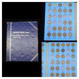 Partial Lincoln Cent Pages 1909-1930 46 coins