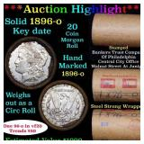***Auction Highlight*** Full solid date 1896-o Mor