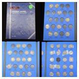 Partial Buffalo Nickel Book 1913-1938 44 coins