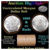 ***Auction Highlight*** 1889 & CC Uncirculated Mor