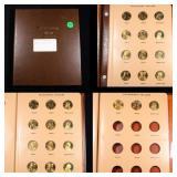 Partial Sacagawea Dollar Book 2000-2008 27 coins