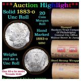***Auction Highlight*** Full solid date 1883-o Unc