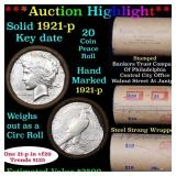 ***Auction Highlight*** Full solid date 1921-p KEY