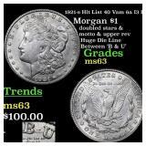 1921-s Hit List 40 Vam 6a I3 R5 Morgan $1 Grades S
