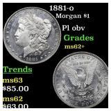 1881-o Morgan $1 Grades Select Unc