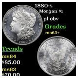 1880-s Morgan $1 Grades Select+ Unc