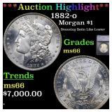 *Highlight* 1882-o Morgan $1 Graded ms66