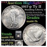 *Highlight* 1917-p Ty II Standing Liberty 25c Grad