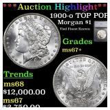 *Highlight* 1900-o TOP POP! Morgan $1 Graded ms67+