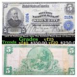 1902 $5 National Bank Note The National Park Bank