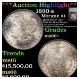 *Highlight* 1890-s Morgan $1 Graded ms66+