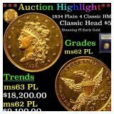 *Highlight* 1834 Plain 4 Classic HM-2 Classic Head