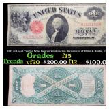 1917 $1 Legal Tender Note, George Washington Signa