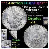 *Highlight* 1904-p Vam 3A I3 R5 Morgan $1 Graded m