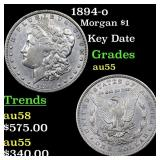 1894-o Morgan $1 Grades Choice AU