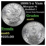 1899/1-o Vam 11 Morgan $1 Grades GEM Unc