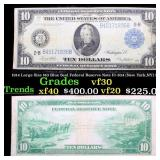 1914 Large Size $10 Blue Seal Federal Reserve Note