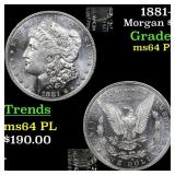 1881-s Morgan $1 Grades Choice Unc PL