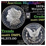 *Highlight* 1879-s Morgan $1 Graded ms65 DMPL
