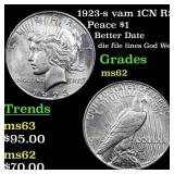1923-s vam 1CN R5 Peace $1 Grades Select Unc