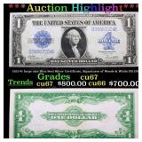 ***Auction Highlight*** 1923 $1 large size Blue Se