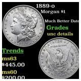 1889-o Morgan $1 Grades Unc Details