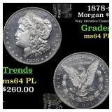 1878-s Morgan $1 Grades Choice Unc PL